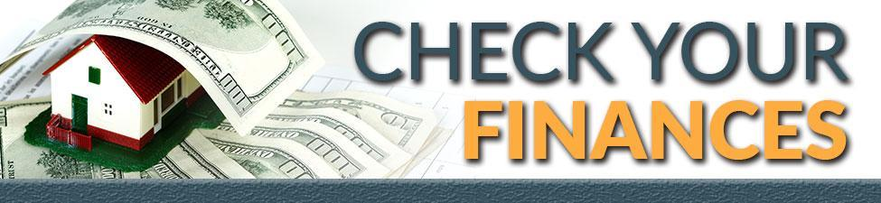 Check Finances When Home Buying