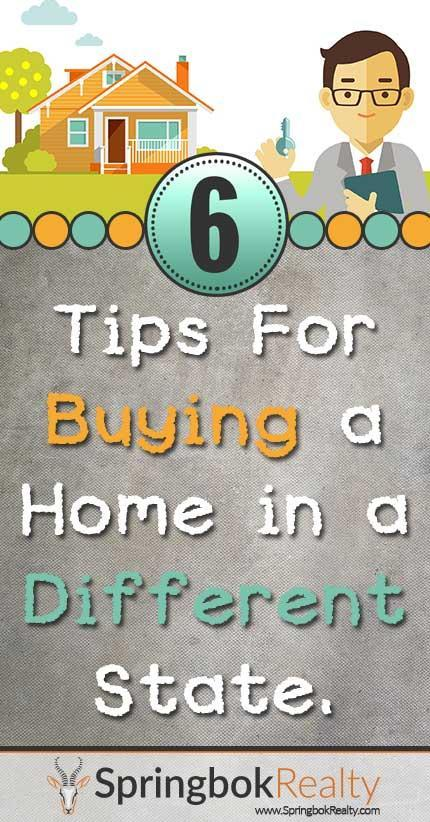 Buying a home in a different state
