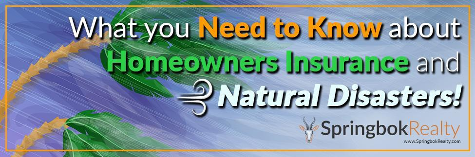 Homeowners Insurance and Hurricanes